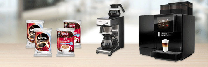 Coffee Machines & Supplies